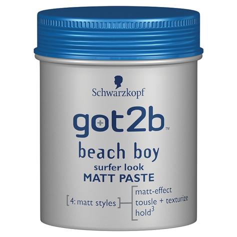 """Schwarzkopf Got2b Beach Boy Pasta modelująca matująca  100ml"""""""