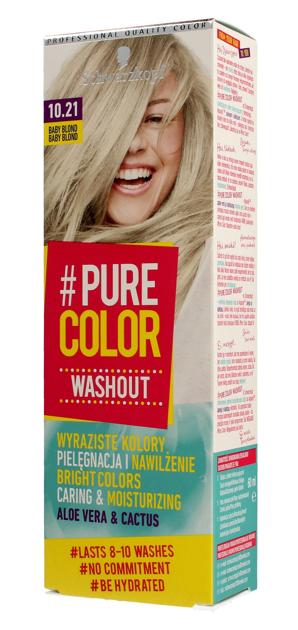 """Schwarzkopf Pure Color Washout Żel koloryzujący do włosów  nr 10.21 Baby Blond  1op."""""""