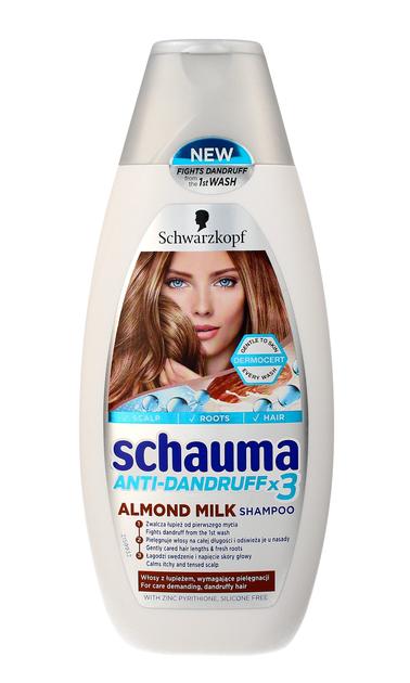 """Schwarzkopf Schauma Almond Milk Szampon do włosów przeciwłupieżowy  400ml"""""""
