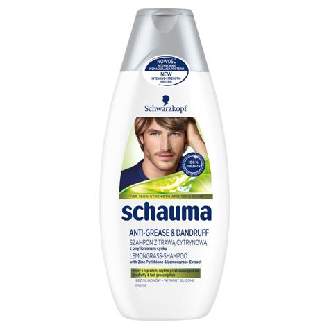 """Schwarzkopf Schauma Szampon przeciwłupiezowy Lemon Grass For Men  400ml"""""""