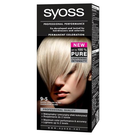 """Schwarzkopf Syoss Farba do włosów Mroźny Perłowy Blond nr 9-5  1op."""""""