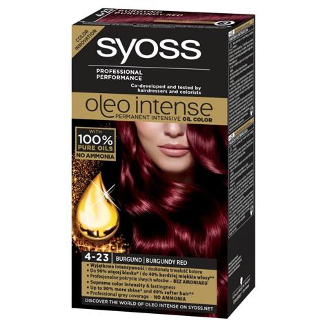 """Schwarzkopf Syoss Farba do włosów Oleo 4-23 burgund  1op."""""""