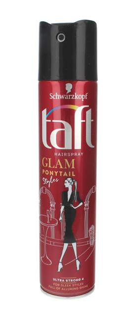 """Schwarzkopf Taft Glam Styles Ponytail Lakier do włosów ultra strong  250ml"""""""