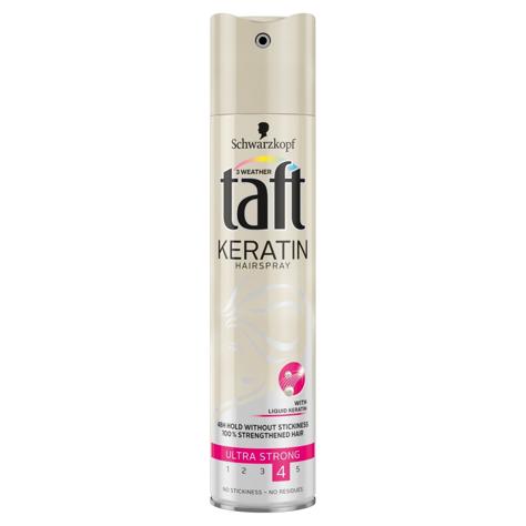 """Schwarzkopf Taft Keratin Complete Lakier do włosów ultra mocny 250ml"""""""