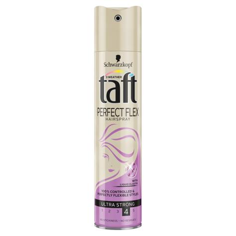 """Schwarzkopf Taft Perfect Flex Lakier do włosów ultra mocny 250ml"""""""