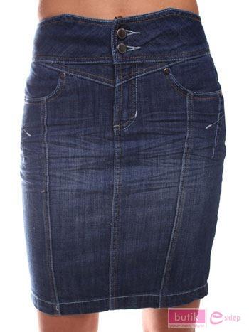 Spódnica jeansowa