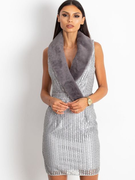 Srebrna sukienka Boost                              zdj.                              1