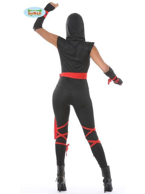 Strój karnawałowy Kobieta Ninja                              zdj.                              2