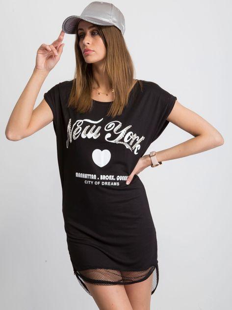 Czarna sukienka Glistening                              zdj.                              5