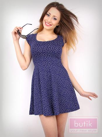 Sukienka w kropki                                  zdj.                                  3