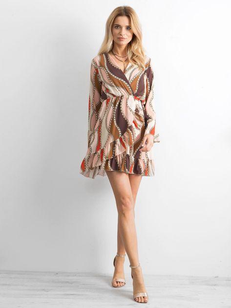 Sukienka we wzory                               zdj.                              4