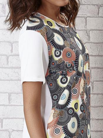 Sukienka z okrągłym kwiatowym nadrukiem                                  zdj.                                  6
