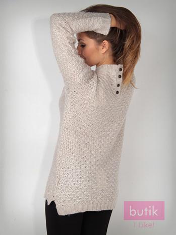 Sweter z guzikami                                  zdj.                                  2