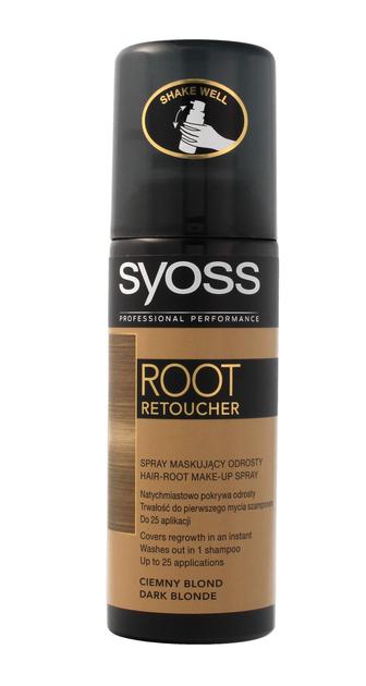 """Syoss Root Retoucher Spray maskujący odrosty -  Ciemny Blond  120ml"""""""