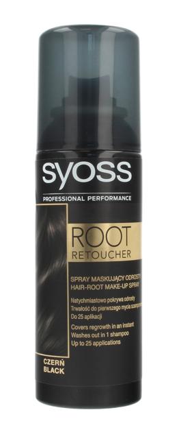 """Syoss Root Retoucher Spray maskujący odrosty - Czerń  120ml"""""""