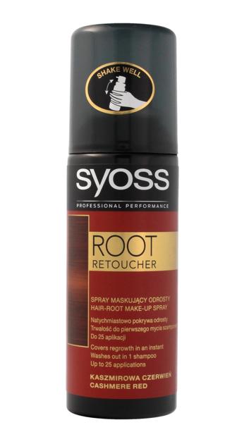"""Syoss Root Retoucher Spray maskujący odrosty -  Kaszmirowa Czerwień  120ml"""""""