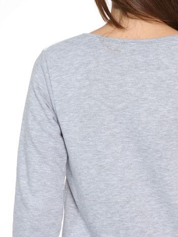 Szara dresowa bluza z nadrukiem CALIFORNIA LA                                  zdj.                                  10