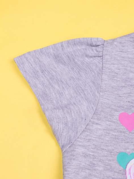 Szara piżama dla dziewczynki BARBIE                                  zdj.                                  6