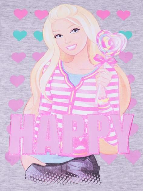 Szara piżama dla dziewczynki BARBIE                                  zdj.                                  7