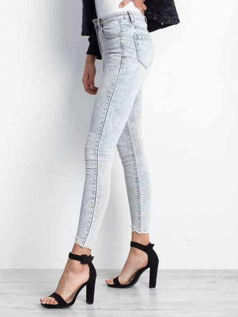 Szare jeansy Excavating                              zdj.                              3