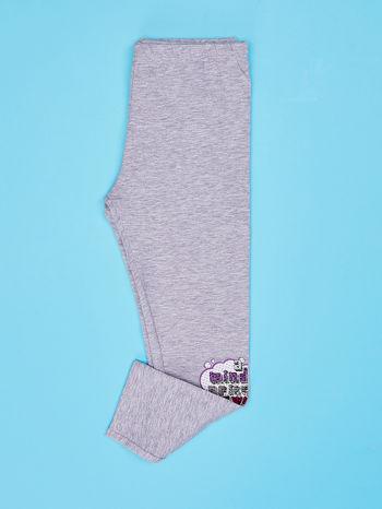 Szare legginsy dla dziewczynki FURBY                                  zdj.                                  3
