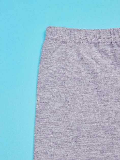 Szare legginsy dla dziewczynki SNOOPY                                  zdj.                                  3