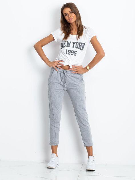 Szare spodnie Approachable                              zdj.                              4