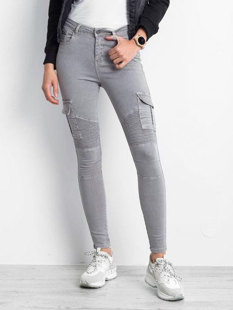 Szare spodnie Hello                              zdj.                              1