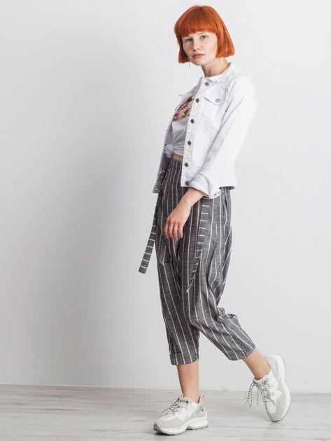 Szare spodnie Vibing                              zdj.                              6