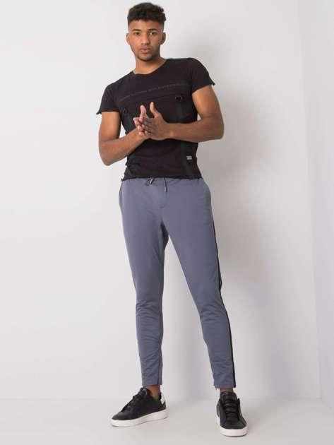 Szare spodnie dresowe męskie Darren