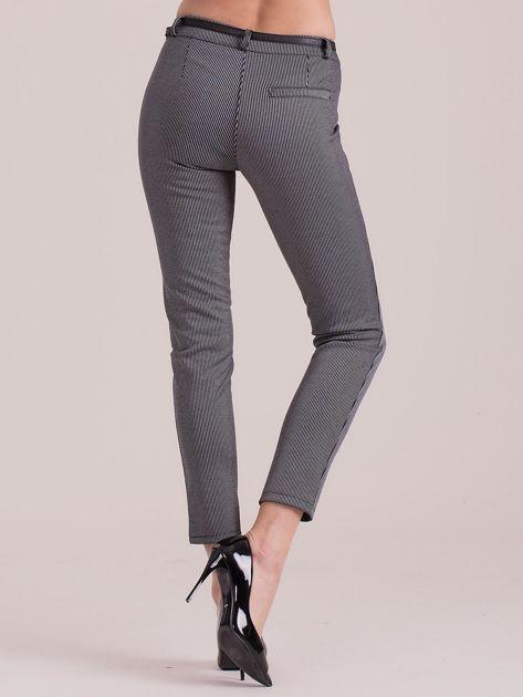 Szare spodnie w paski                               zdj.                              2