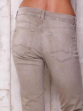 Szare spodnie z prostą nogawką                                  zdj.                                  5