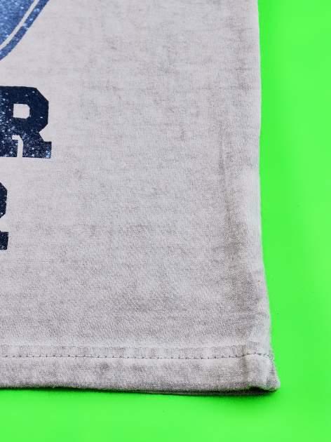 Szary dekatyzowany t-shirt chłopięcy STAR WARS                                  zdj.                                  5