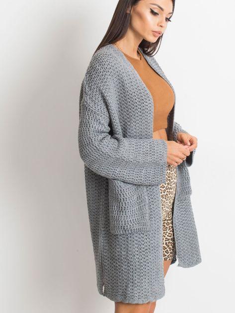 Szary sweter Luna                              zdj.                              5