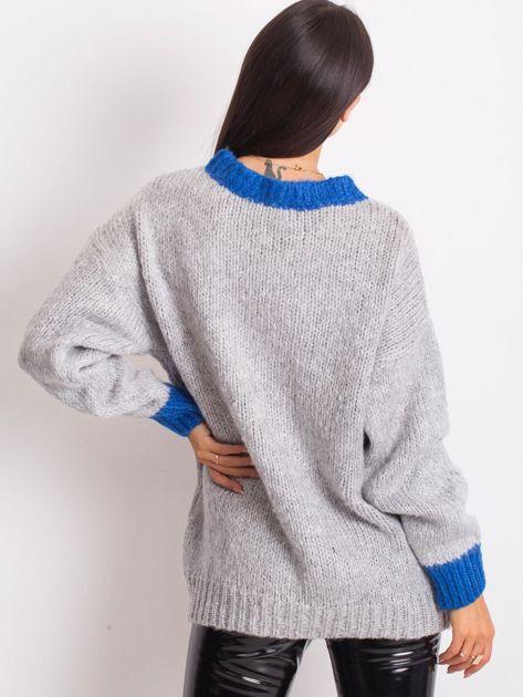 Szary sweter Pretty                              zdj.                              2