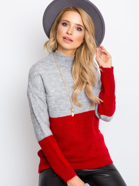 Szary sweter Taylor                              zdj.                              1