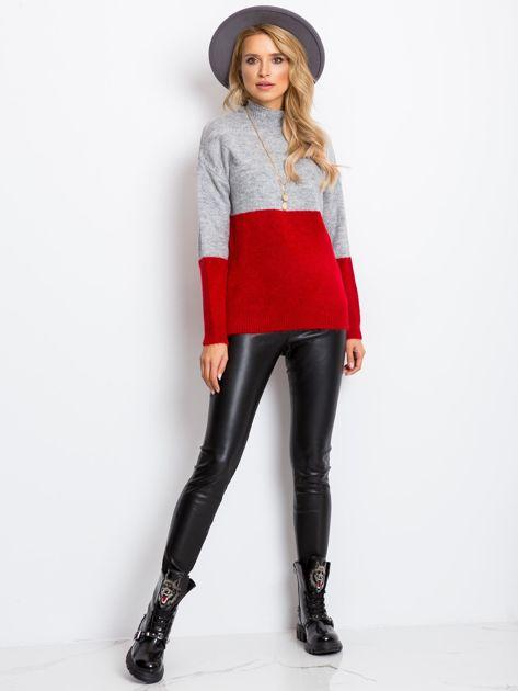 Szary sweter Taylor                              zdj.                              4