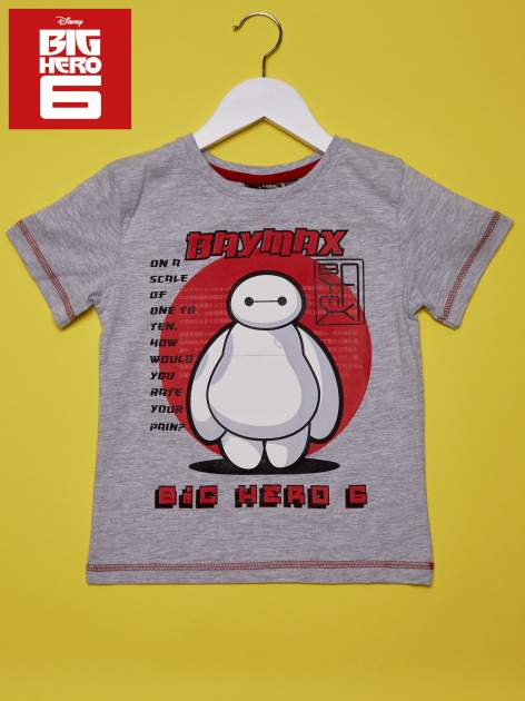 Szary t-shirt chłopięcy WIELKA SZÓSTKA