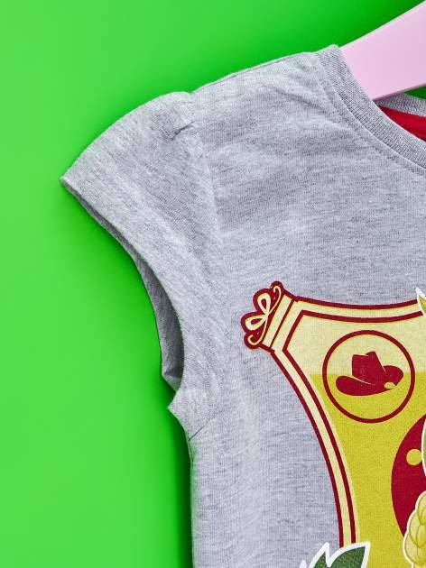 Szary t-shirt dla dziewczynki EQUESTRIA GIRLS                                  zdj.                                  6