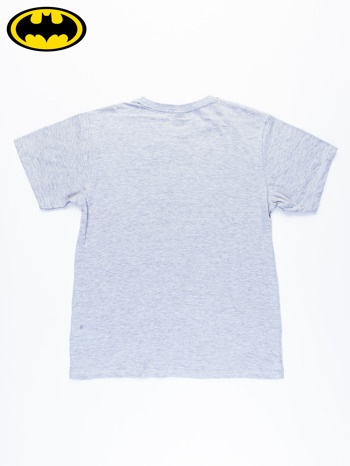 Szary t-shirt męski BATMAN                                  zdj.                                  7