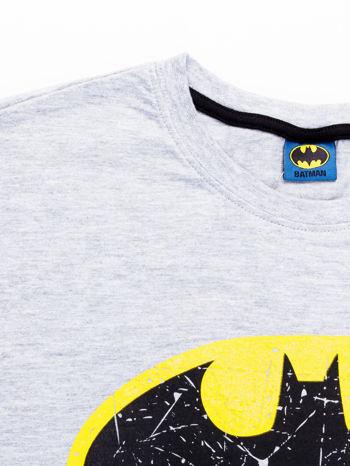 Szary t-shirt męski BATMAN                                  zdj.                                  9