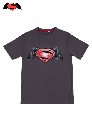 Szary t-shirt męski BATMAN V SUPERMAN                                  zdj.                                  9