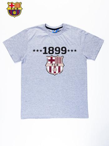 Szary t-shirt męski FC BARCELONA                                   zdj.                                  10