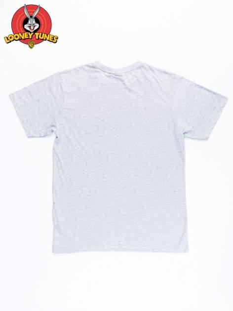 Szary t-shirt męski LOONEY TUNES                                  zdj.                                  10