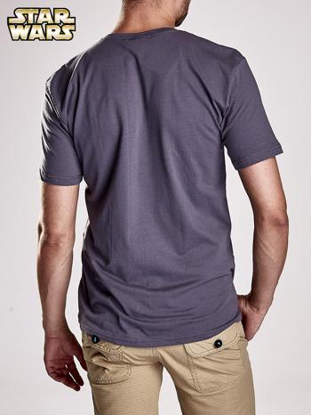 Szary t-shirt męski STAR WARS                                  zdj.                                  5