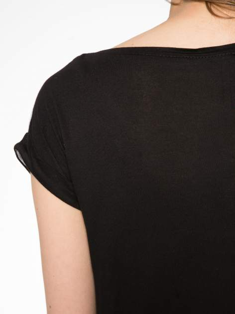 Szary t-shirt z napisem THERE IS NO ONE LIKE YOU                                  zdj.                                  9