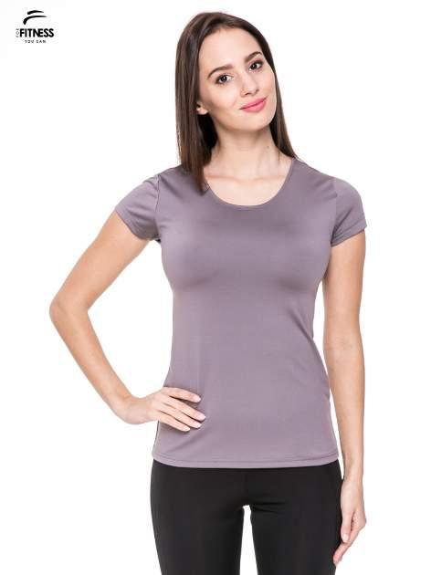 Szary termoaktywny t-shirt sportowy typu basic ♦ Performance RUN                                  zdj.                                  1