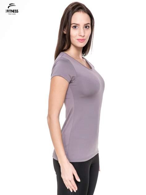 Szary termoaktywny t-shirt sportowy typu basic ♦ Performance RUN                                  zdj.                                  3