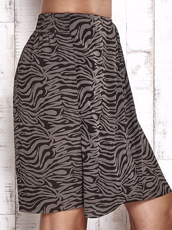 TOM TAILOR Czarna spódnica abstract print                                  zdj.                                  5