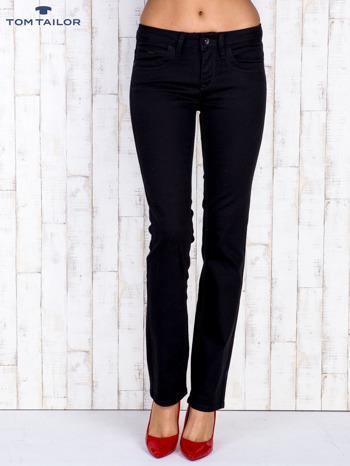 TOM TAILOR Czarne proste spodnie                                  zdj.                                  1